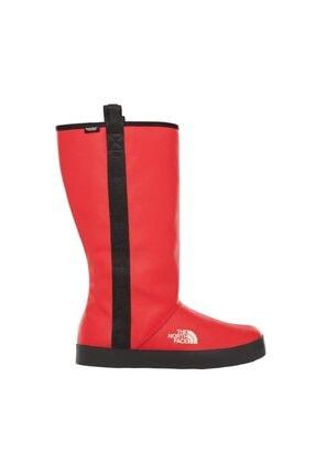 THE NORTH FACE W Basecamp Rain Boot Kadın Kırmızı Outdoor Ayakkabı Nf0a3k3ckz31