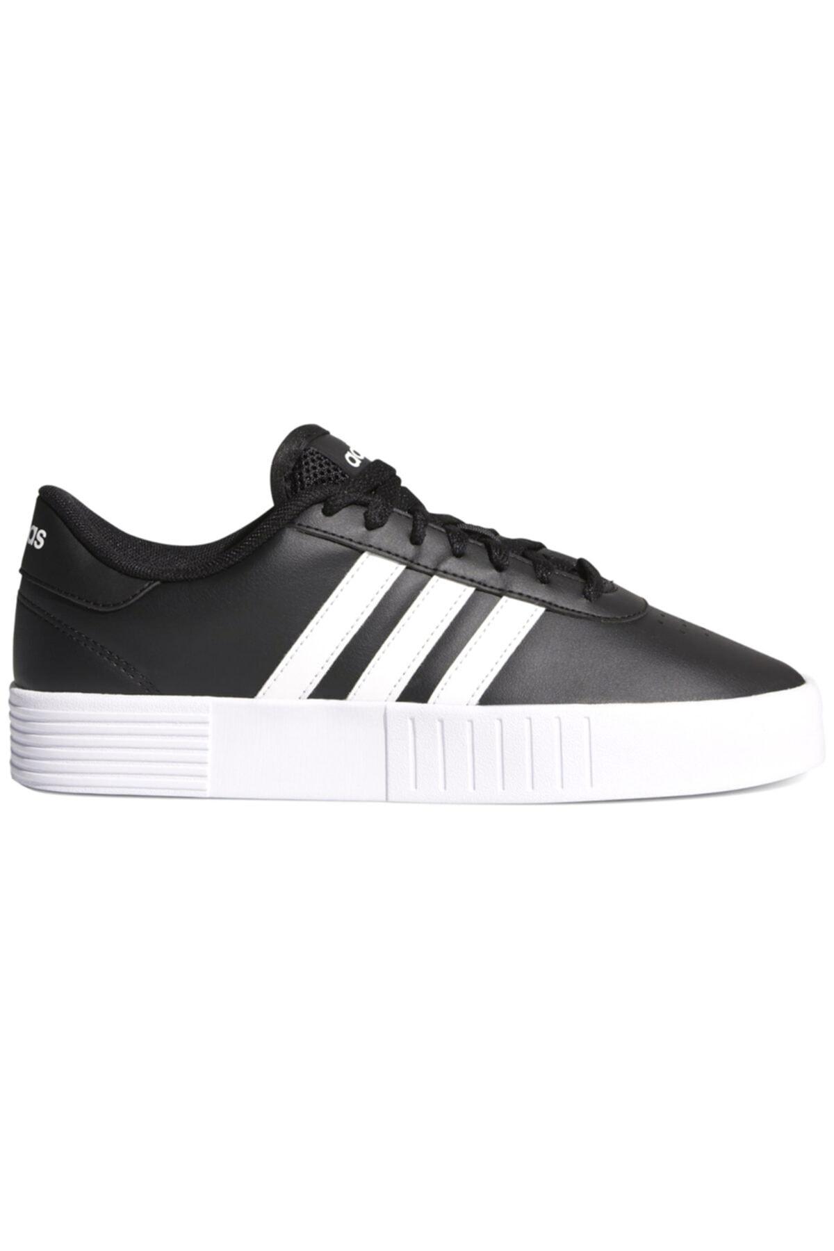 adidas COURT BOLD Siyah Kadın Sneaker Ayakkabı 100663828 1