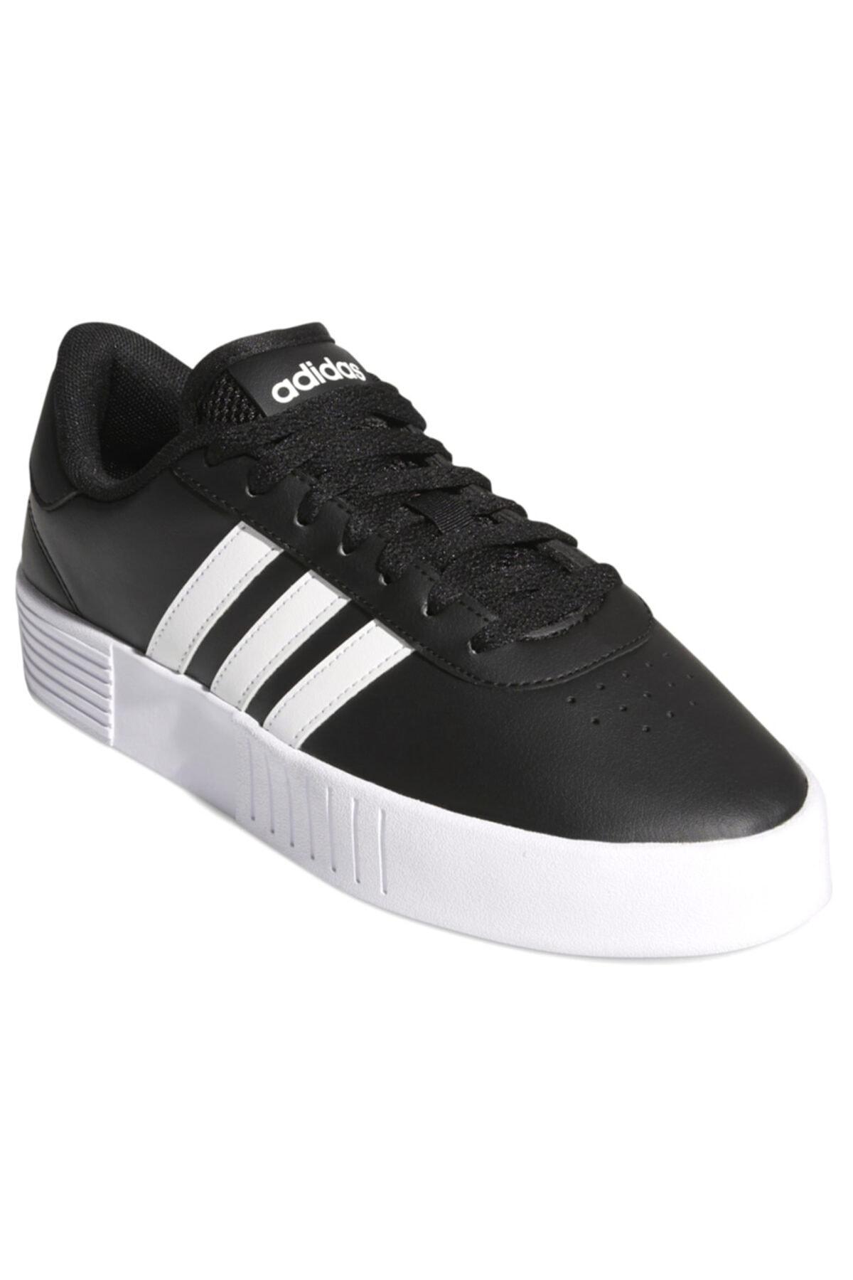 adidas COURT BOLD Siyah Kadın Sneaker Ayakkabı 100663828 2