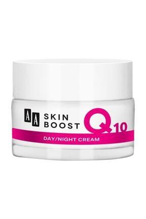 AA Cosmetics AA Skin Boost Koenzim Q10 Kırışıklık Kremi Gündüz Gece 50ml