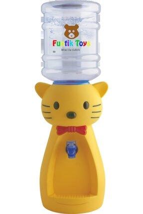Funtik Toys Funtik Kedi Çocuk Su Sebili Kırmızı (bardak Hediyeli) Kırmızı