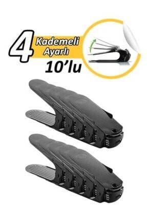Özay Plastik 4 Ayarlı Ayakkabı Rampası 10 Adet 1.kalite