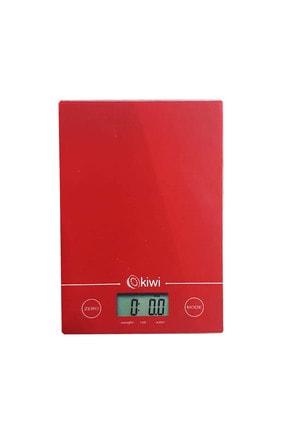 Kiwi Kks-1123 Elektronik Mutfak Tartısı Kırmızı
