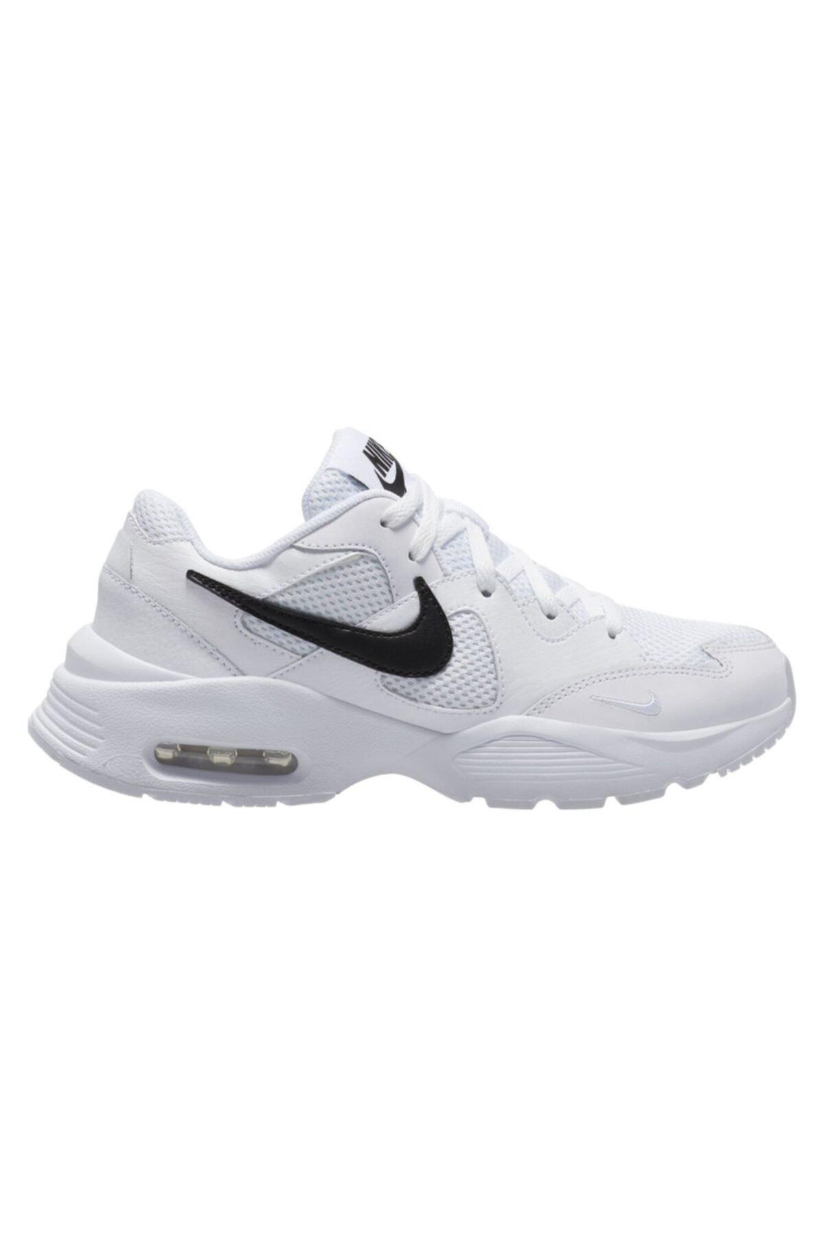 Nike Kadın Beyaz Spor Ayakkabı Nıke Wmns Aır Max Fusıon Cj1671-100 1