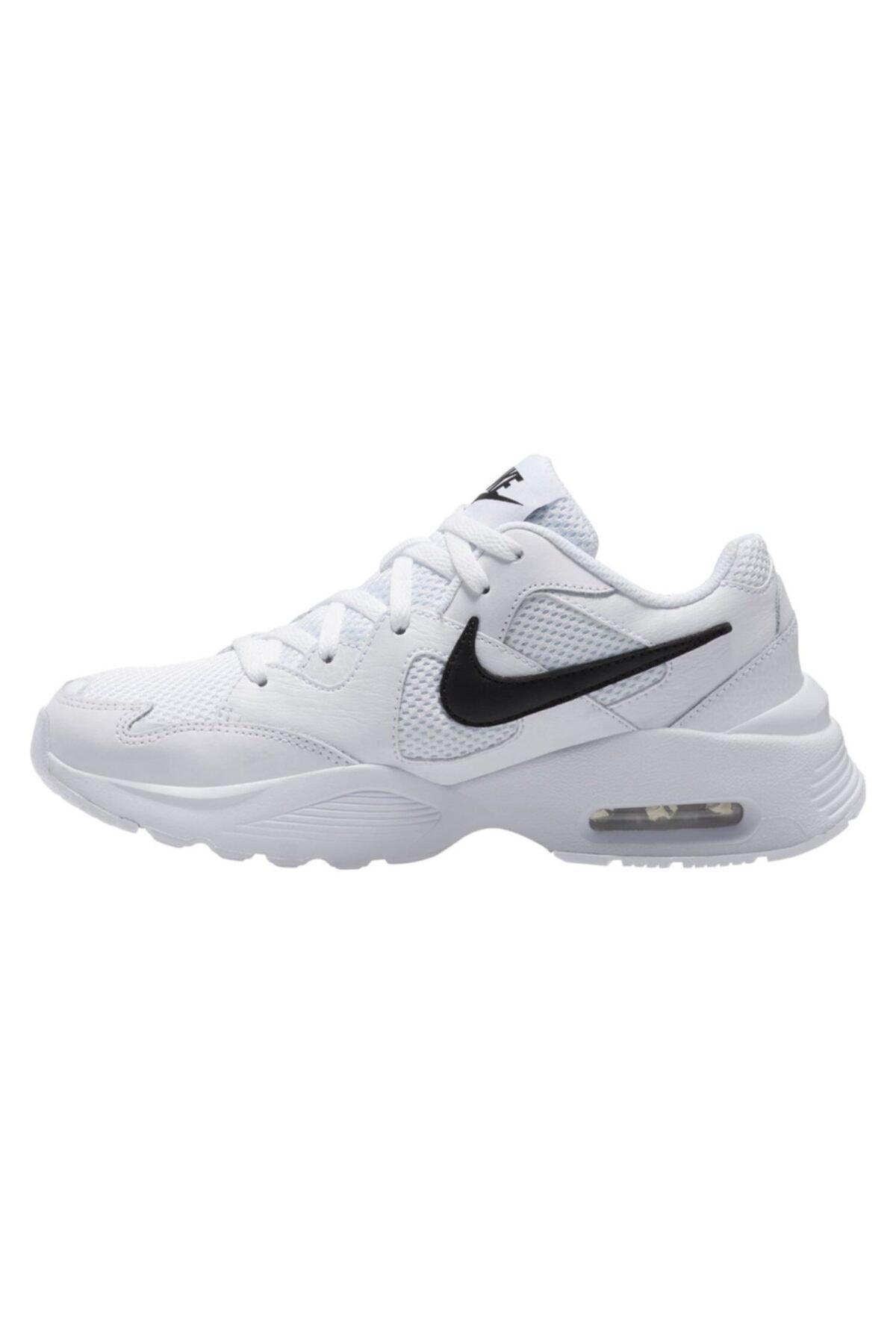 Nike Kadın Beyaz Spor Ayakkabı Nıke Wmns Aır Max Fusıon Cj1671-100 2
