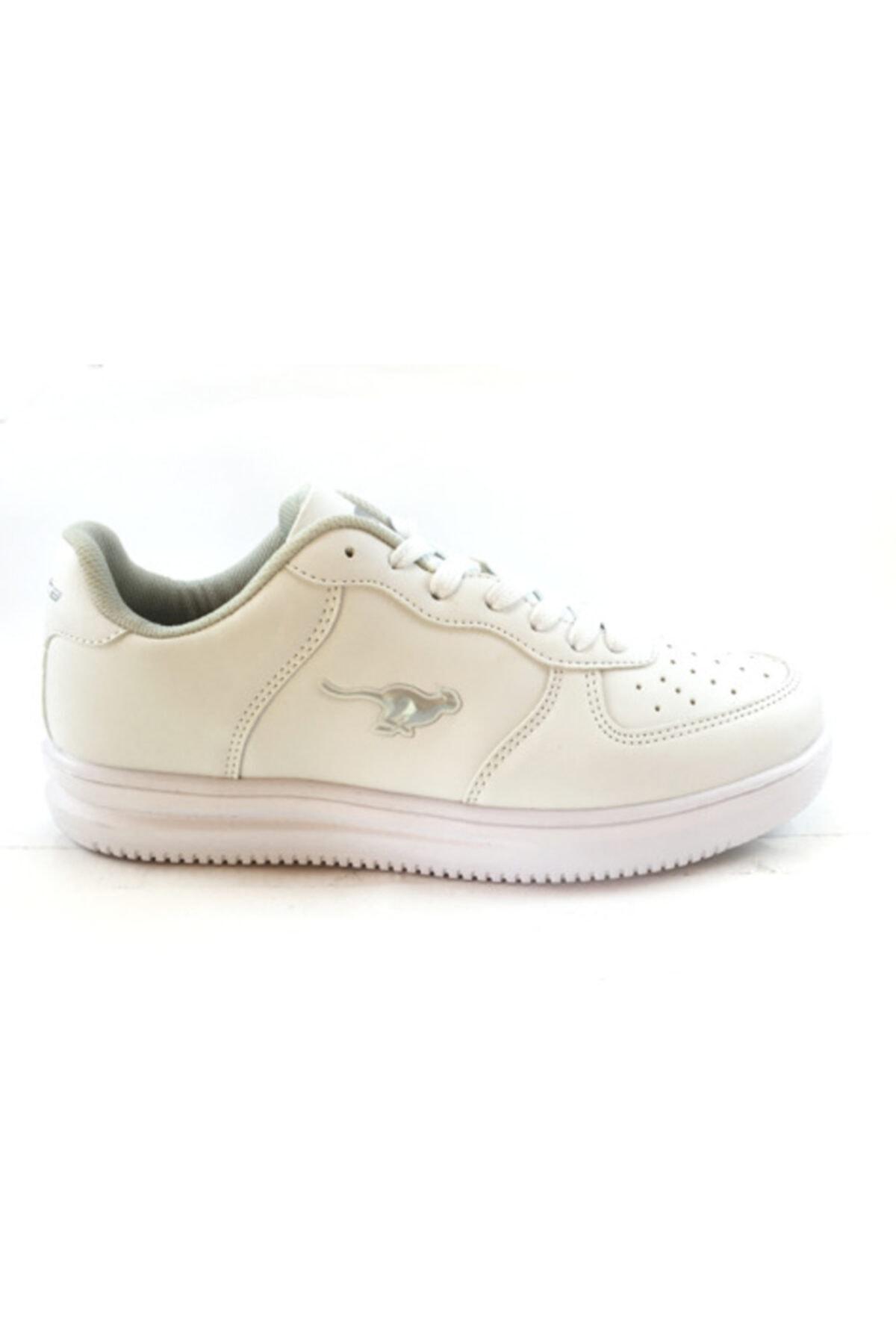 Cheta Unisex Beyaz Ortopedik Comfort Cilt Spor Ayakkabı 1