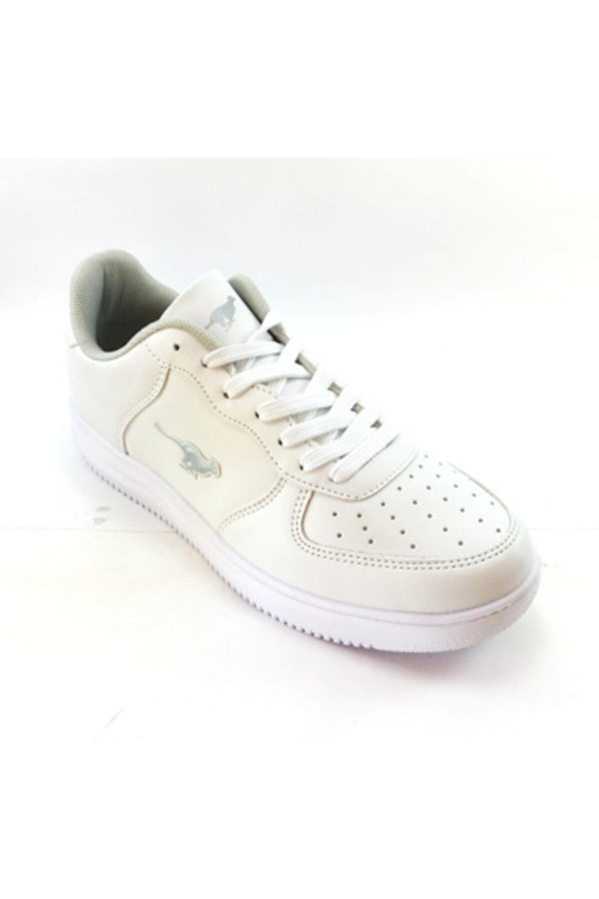 Cheta Unisex Beyaz Ortopedik Comfort Cilt Spor Ayakkabı 2
