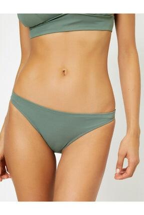 Koton Kadın Yeşil Düz Bikini Alti 0YAK88500OM