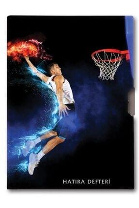 KESKİN COLOR 96 Yaprak Erkek Çocuk Hatıra Defteri - Basketbol - 14x20 Cm