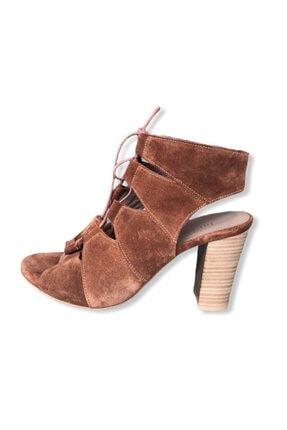 Dıvarese Süet Sandalet Ayakkabı