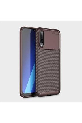 Samsung Galaxy A50 Kılıf Rugged Armor Negro Karbon Silikon