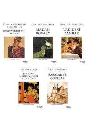 Can Yayınları Can Klasikleri Seti - Goethe-victor Hugo-turgenyev-gustave Flaubert-balzac