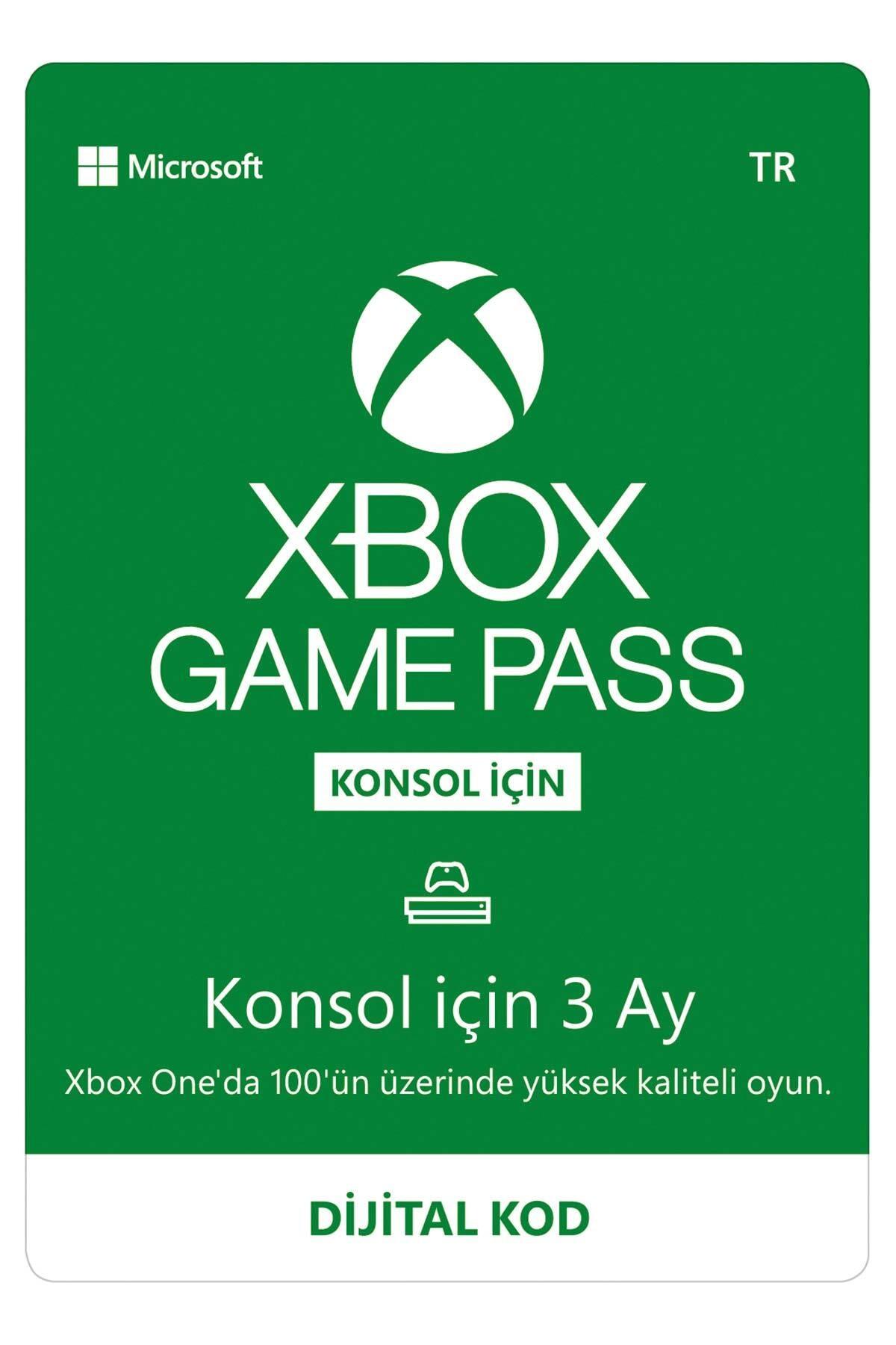 MICROSOFT Xbox Game Pass - 3 Ay