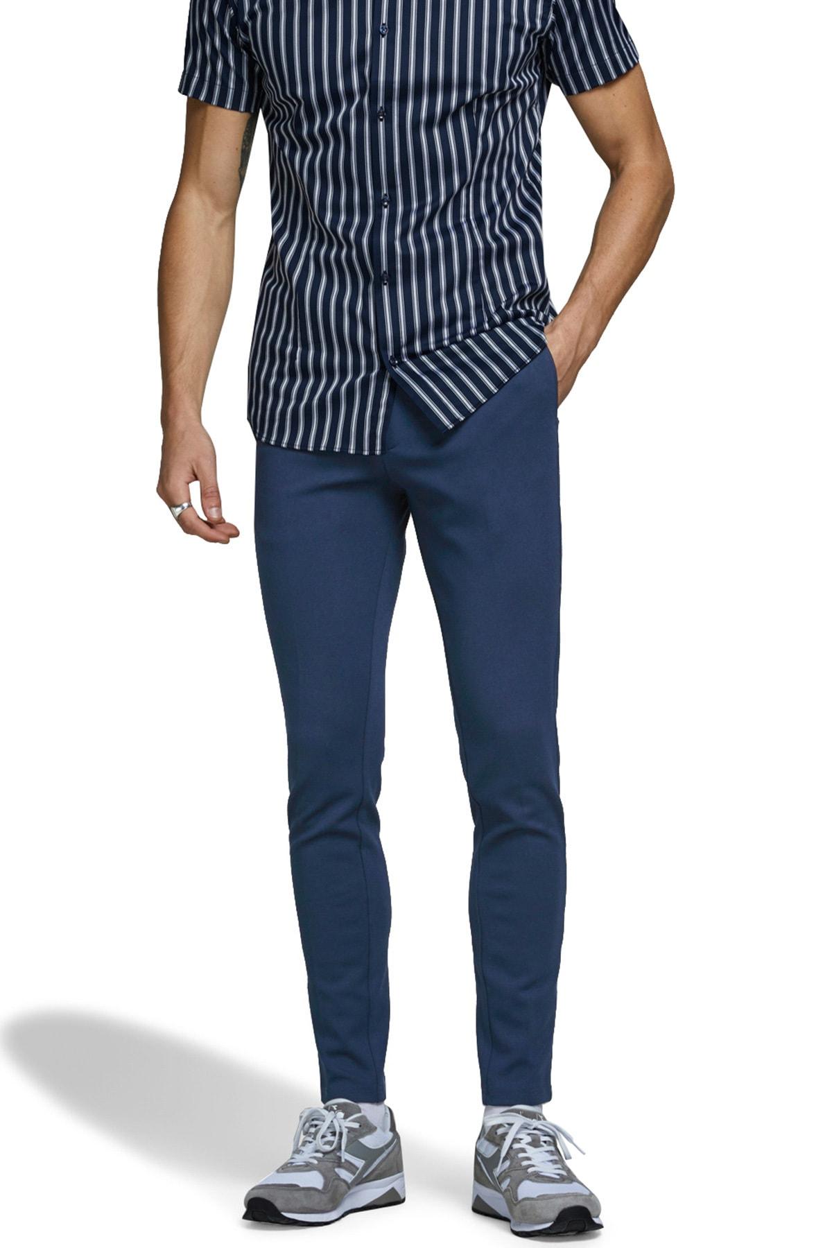 Jack & Jones Jeans Intelligence Jjımarco Slim Fit Pantolon ERKEK PANTOLON 12173630 2
