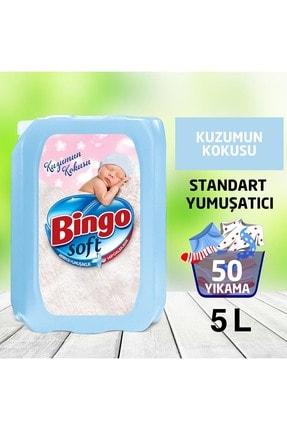 Bingo Soft Kuzumun Kokusu Çamaşır Yumuşatıcısı 5 kg