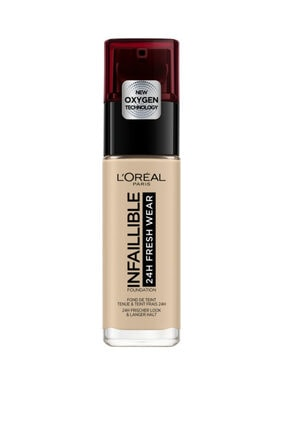 L'Oreal Paris Uzun Süre Kalıcı Fondöten - Infaillible 24H Fresh Wear 130 True Beige 30 ml 3600523614417