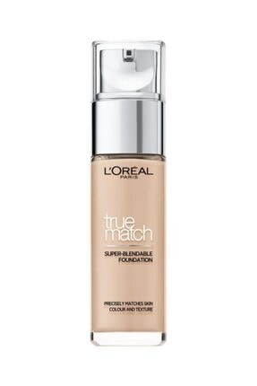 L'Oreal Paris Fondöten - True Match Foundation 1R Rose Ivory 30 ml 3600522862475