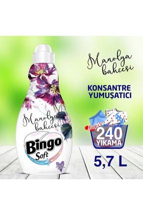 Bingo Soft Konsantre Çamaşır Yumuşatıcısı Manolya 1440 ml - Ekonomi Paketi 4'lü