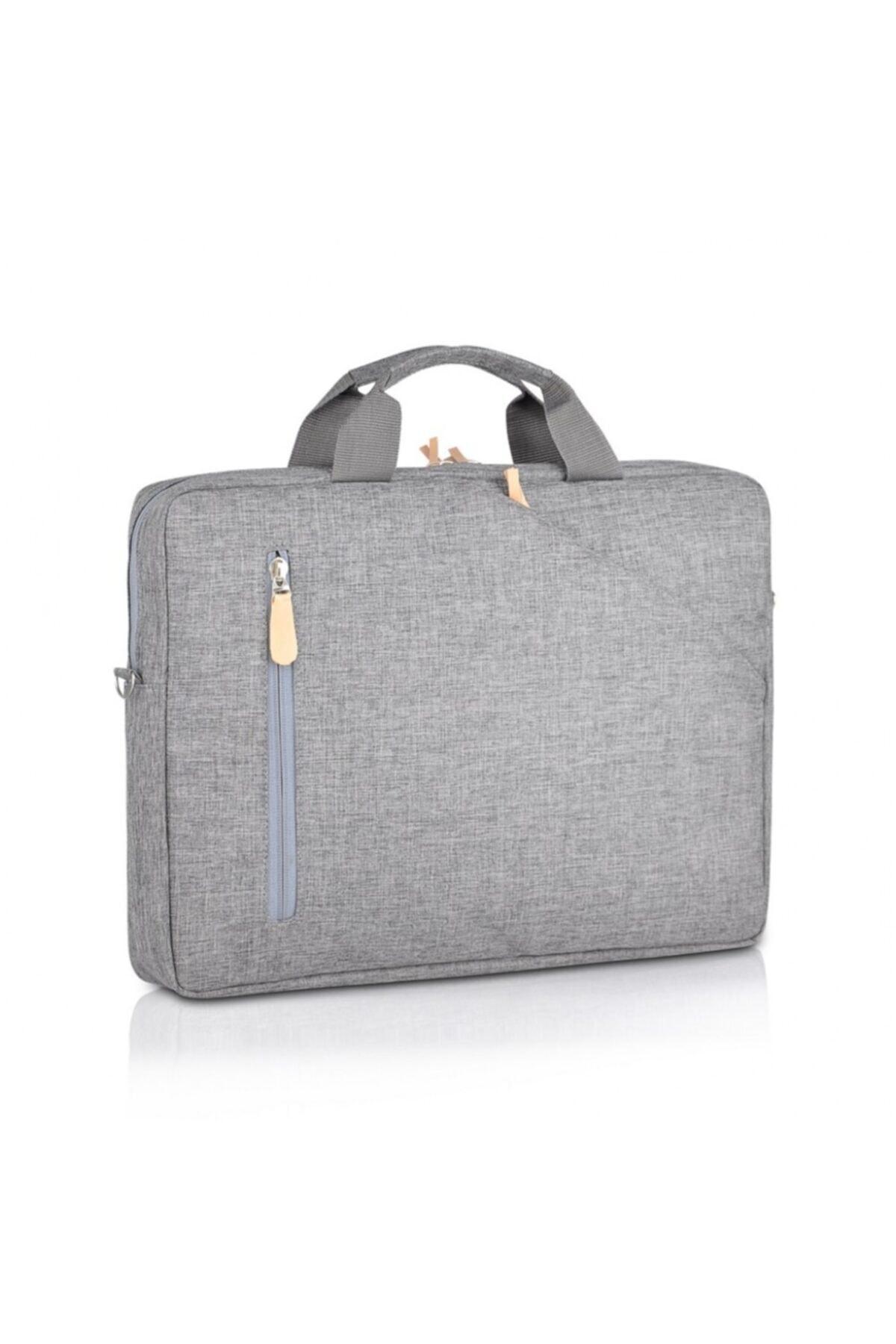 Nar Çanta Laptop / Evrak Çantası Nc-lt-003 Gri (15'' Inç) 1
