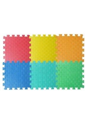 Entude Eva Yer Karosu 6 Renk Puzzle Oyun Karosu Çocuk Oyun Yer Matı