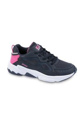 Jump Kadın Lacivert Pembe Spor Ayakkabı 24711