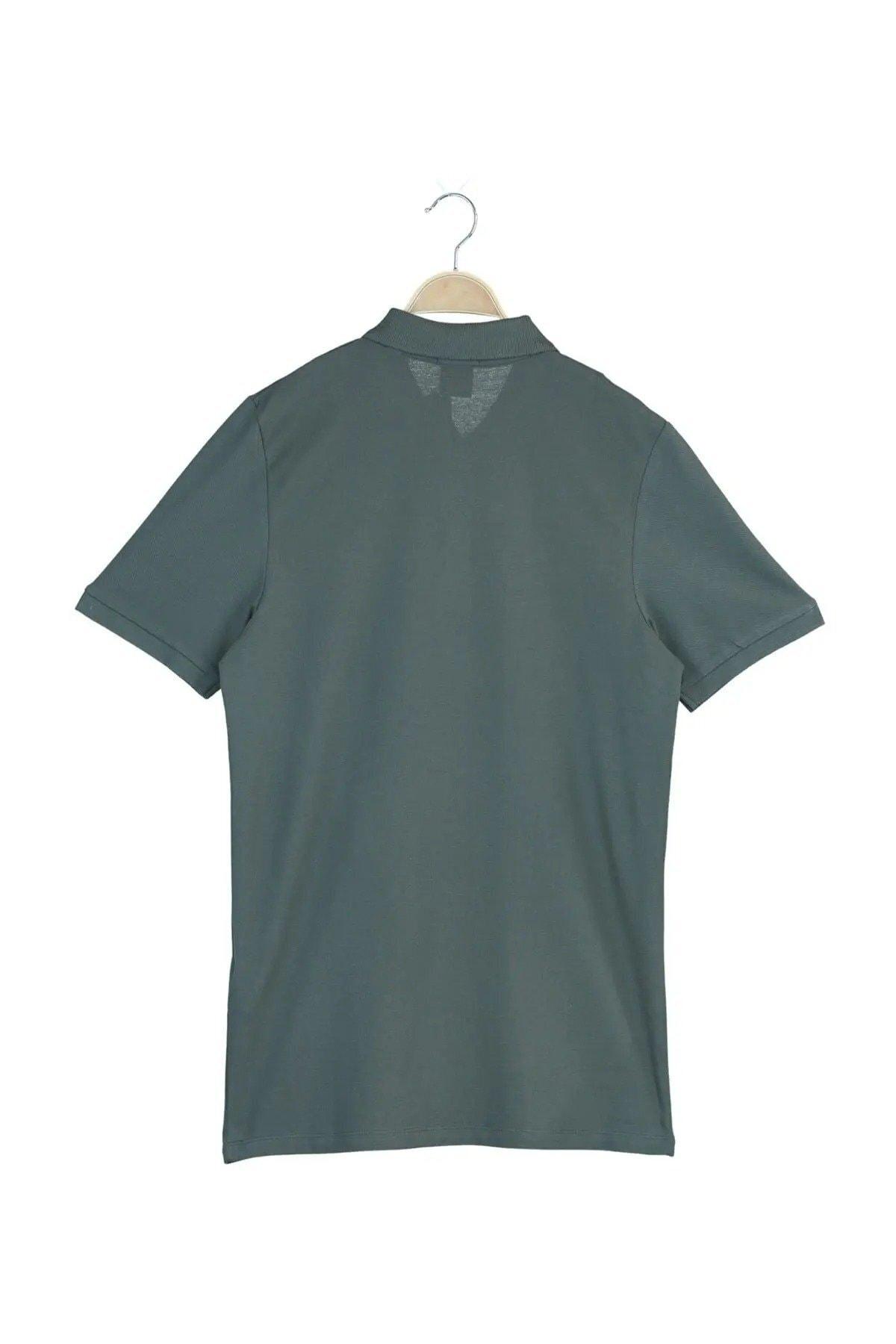 Jack & Jones Erkek Haki Polo Yaka  Cobana Originals SS T-Shirt 2
