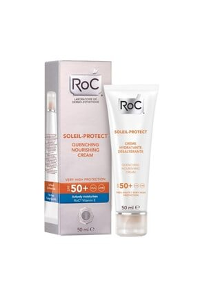 Roc Soleil Protect Quenching Nourishing Cream Spf 50+ -50 Ml