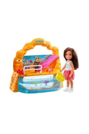 Barbie Chelsea Piknikte Oyun Seti - Havuzlu - Ghb75