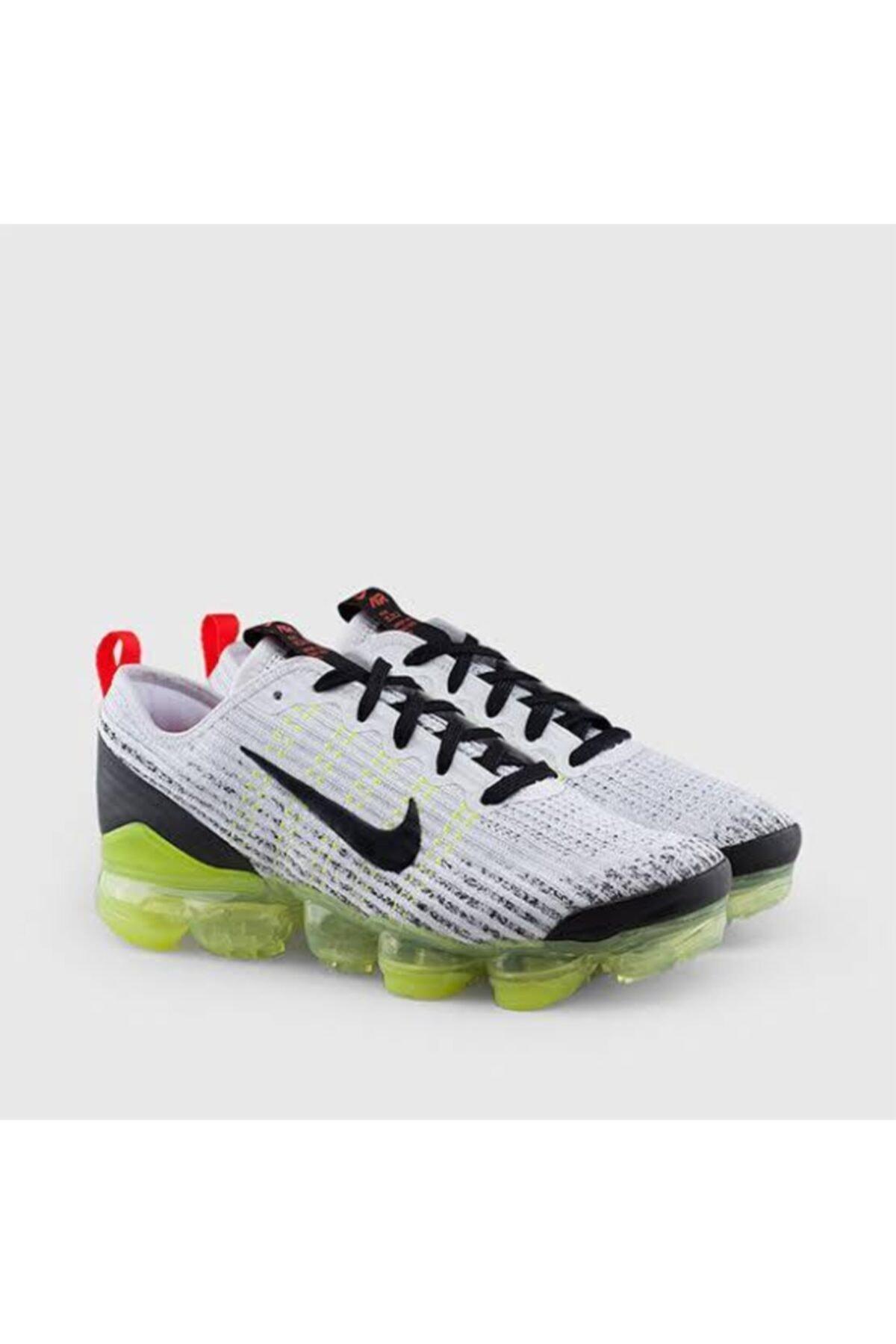 Nike Air Vapormax Flyknit 3 Gs 'white Volt' - - Bq5238 100 2