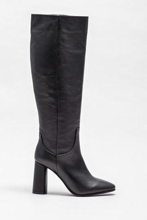 Elle Shoes Kadın Adrano-1 Sıyah Çizme 20K052