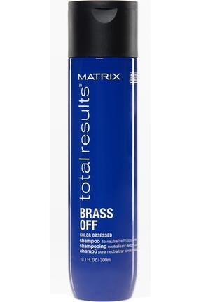 Matrix Total Results Brass Off Kumral Saçlar Için Renk Koruyucu Mavi Şampuan 300ml