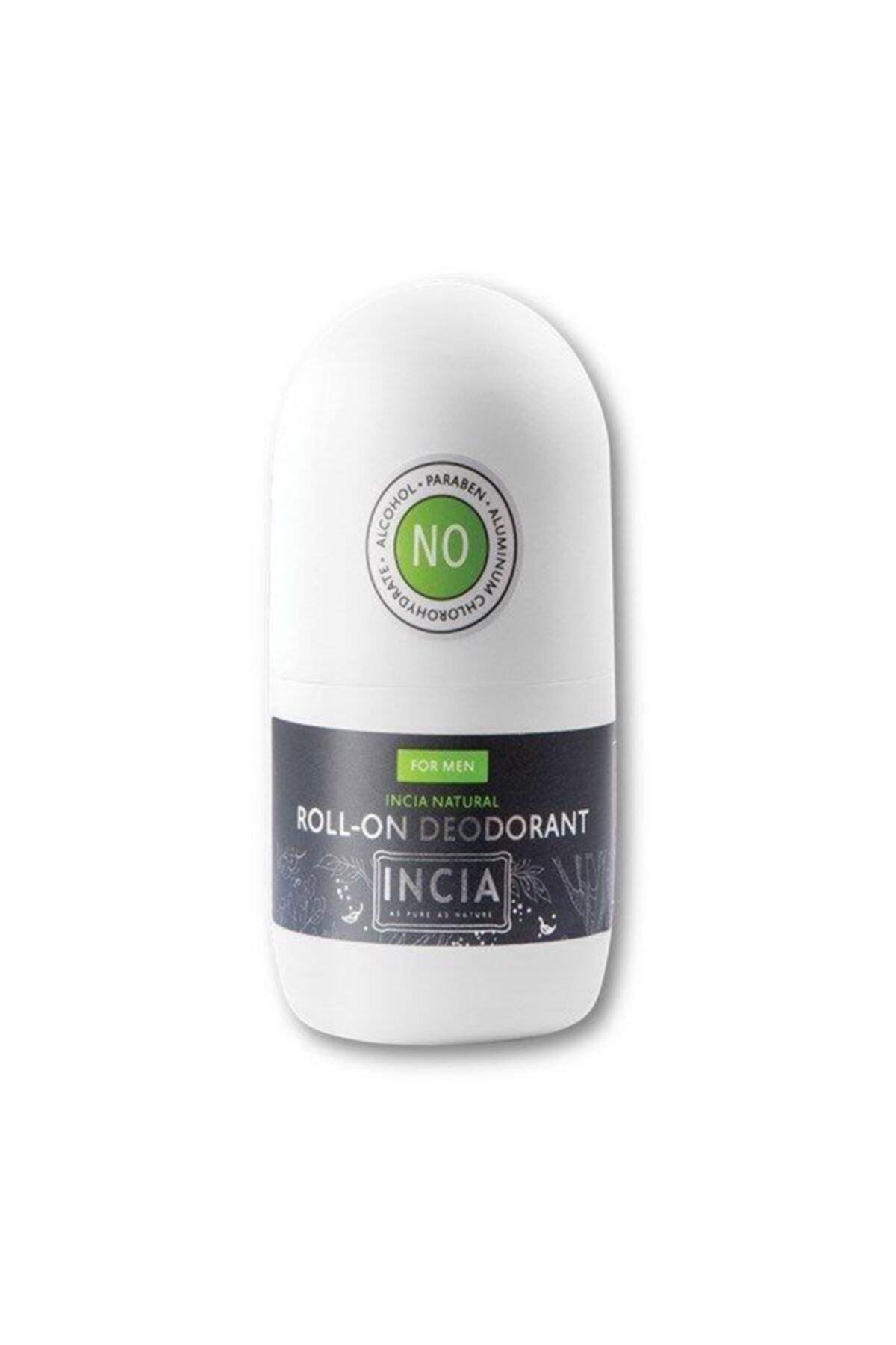 Incia Doğal Roll-on Deodorant Erkekler Için 50 Ml 1