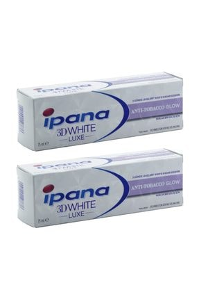 İpana Diş Macunu 3 Boyutlu Luxe Anti-Tabacco Sigara 75 ml  x 2