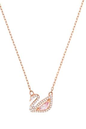 Swarovski Kadın Kolye Dazzling Swan:Necklace Czmo/Ros 5469989