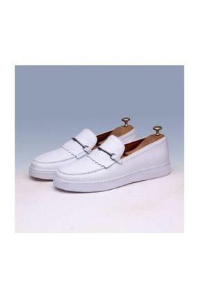 TETRİ Erkek Beyaz Deri Ayakkabı