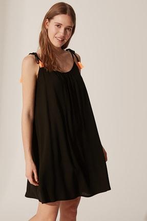 LC Waikiki Kadın Yeni Siyah Elbise 0S1911Z8