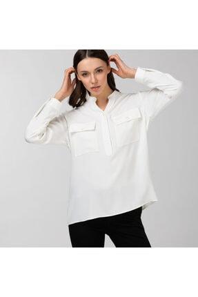 Lacoste Kadın Beyaz Gömlek CF0102T