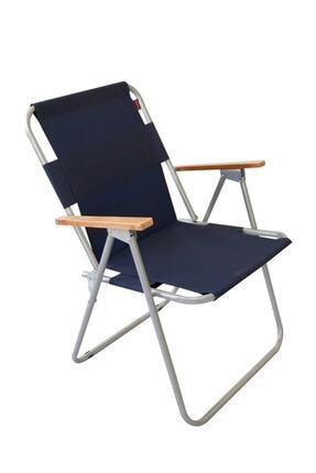 Bofigo Katlanır Sandalye Tekli Kamp Sandalyesi Balkon Sandalyesi Katlanabilir Piknik ve Bahçe Sandalyesi