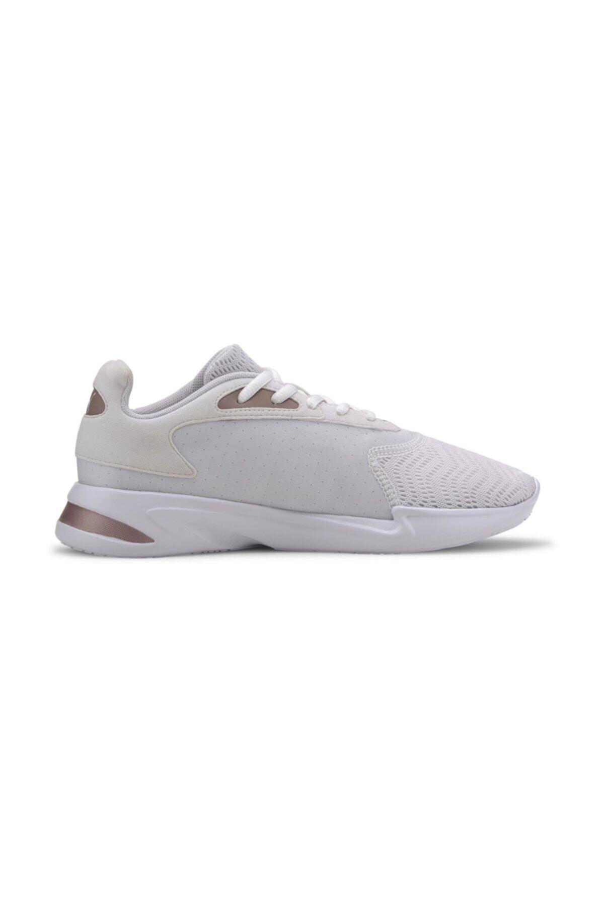 Puma JAROMETAL WNS Beyaz Kadın Koşu Ayakkabısı 100547118 1