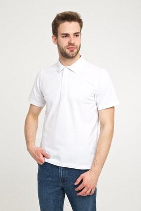 Kiğılı Erkek Beyaz Polo Yaka T-Shirt - Cdee3