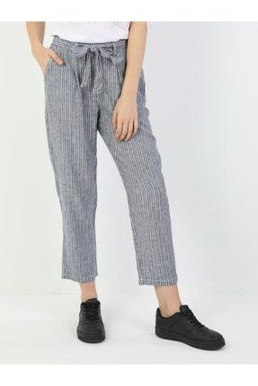 Colin's Regular Fit Orta Bel Düz Paça Kadın Indigo Pantolon
