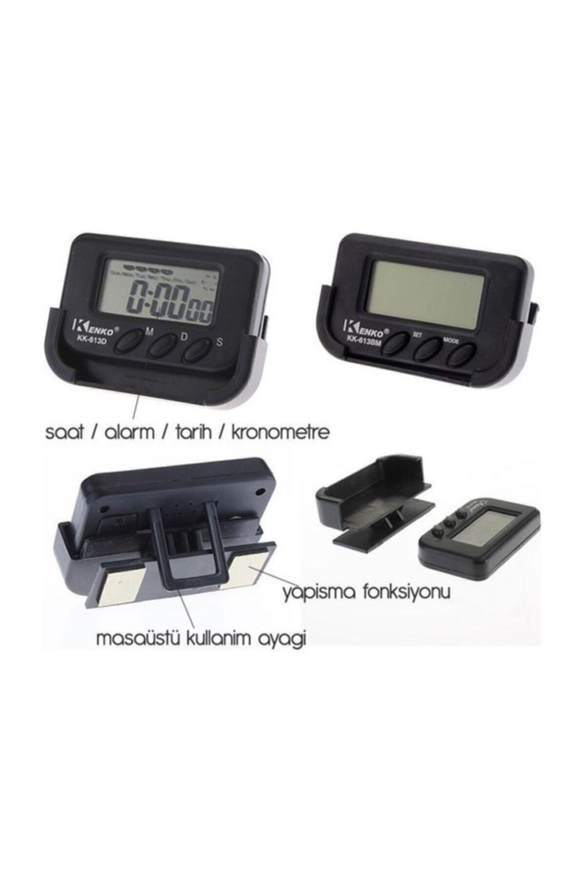 Kenko Mastercar Mini Dijital Kronometre Minibüsçü Saati 1