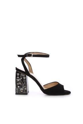 KEMAL TANCA Siyah Kadın Vegan Abiye Ayakkabı 22 6081 BN AYK Y19
