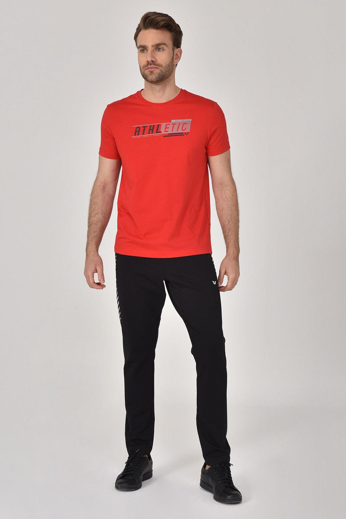 bilcee Kırmızı Erkek T-shirt  GS-8812 2