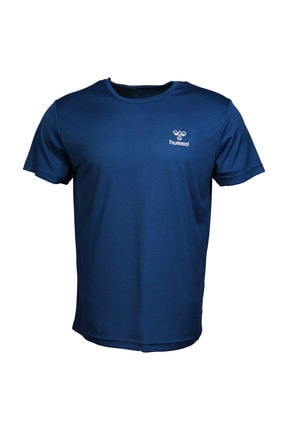 HUMMEL Erkek Lacivert T-shirt HMLTADEO S/S TEE
