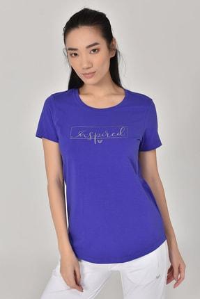 bilcee Mavi Kadın T-Shirt GS-8615