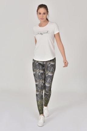 bilcee Beyaz Kadın T-Shirt GS-8615