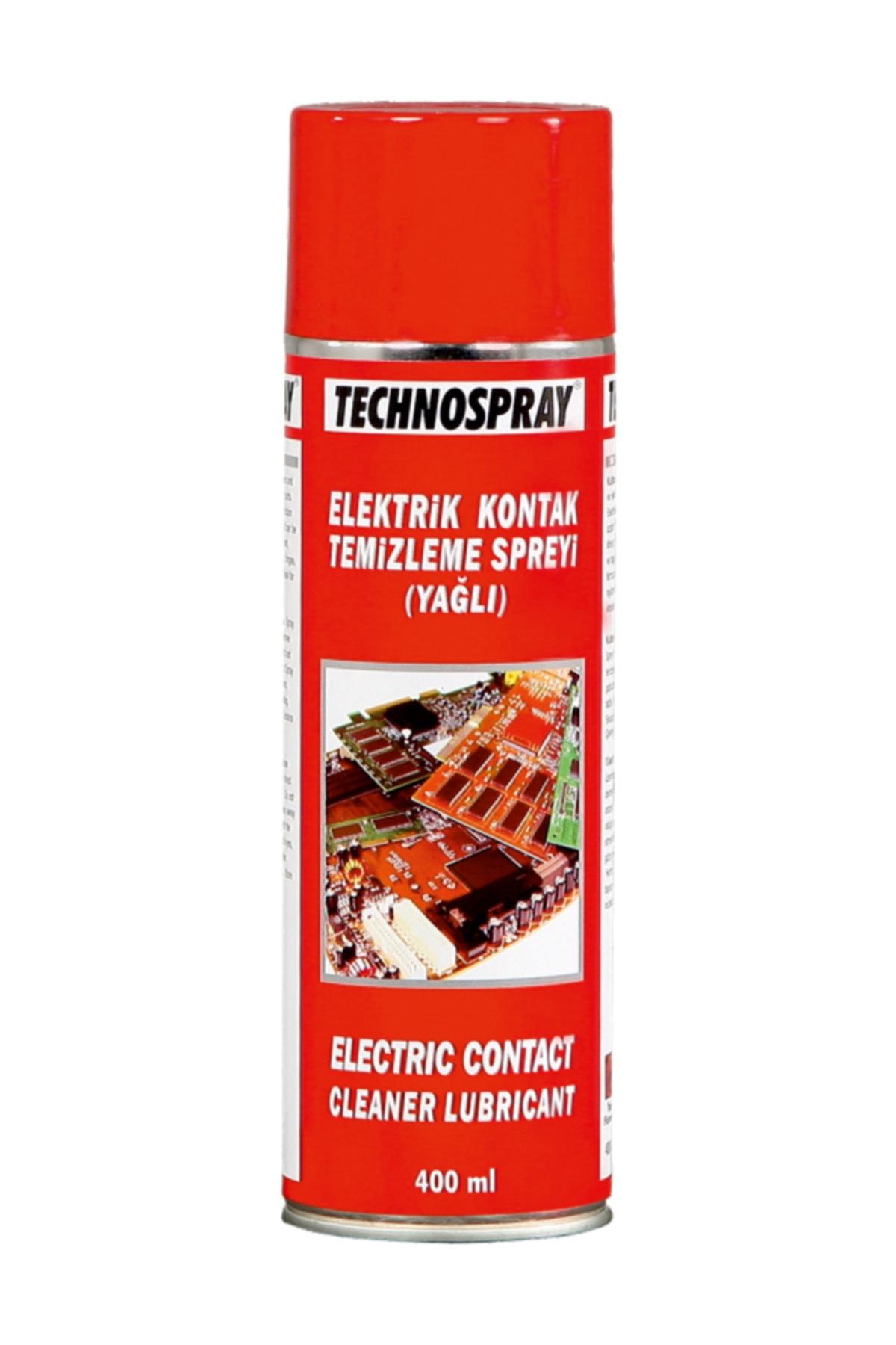 TECHNOSPRAY Elektrik Kontak Spreyi ( Yağlı ) 400 Ml. 1