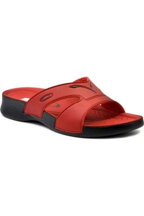 Ceyo 3400-2 Kadın Terlik - Kırmızı - 39