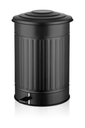 The Mia Siyah Büyük Çöp Kovası  37 lt